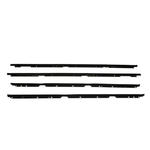 82-92 Chevy Pontiac Camaro Firebird Window Sweep 4 Piece Set