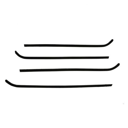 64-66 Chevy GMC Pickup Window Sweep 4 Piece Set