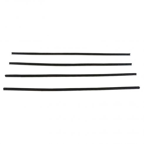 1970-72 Plymouth Duster, Dodge Dart Demon 2dr Authentic Front Window Sweep (SET of 4)