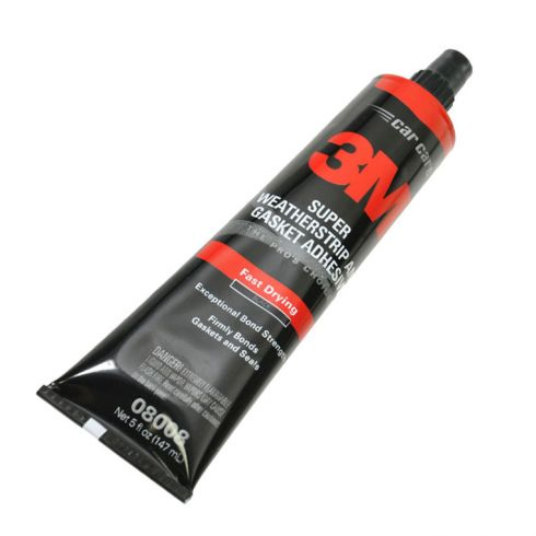 Weatherstrip Adhesive Black 3M 5 oz.