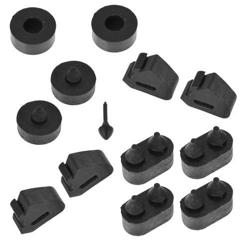 70-81 Chevy Camaro Rubber Bumper Assortment Kit
