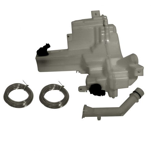 04-09 Mazda 3 Hatchback; 06-10 5 (w/Large Capacity) Washer Reservoir w/Pump