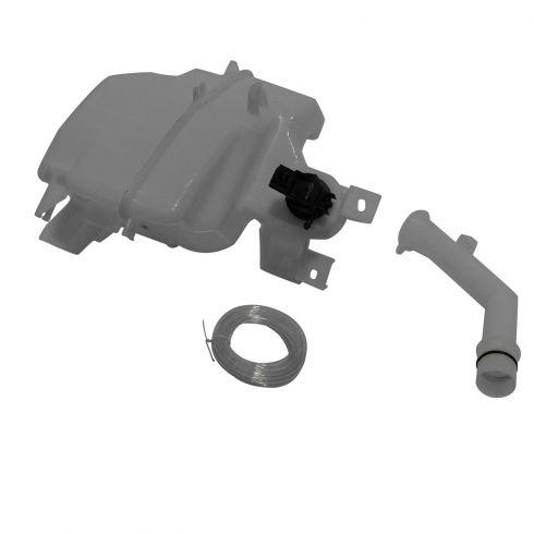 10-11 Mazda 3 Sdn w/2.5L; 12-13 Mazda 3 (w/Standard Capacity) (w/o Sensor Prov) Washer Resrvr w/Pump