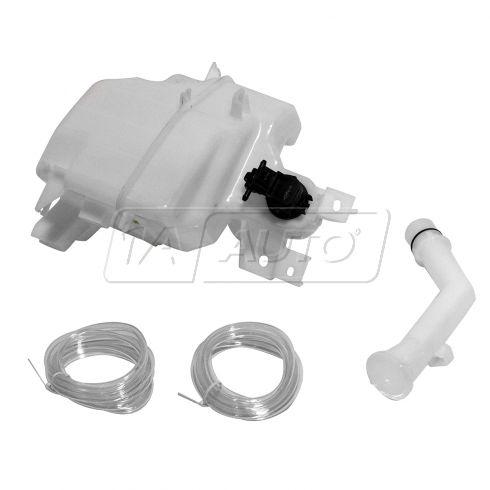 10-13 Mazda 3 Hatchback; 12-13 Mazda 5 (w/Standard Capacity) (w/o Sensor Prov) Washer Resrvr w/Pump