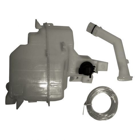 10-11 Mazda 3 Sedan w/2.0L (w/Standard Capacity & Sensor Prov) Windshield Washer Reservoir w/Pump