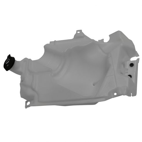 02-09 GM, Saab, Isuzu Mid Size SUV Multifit Windshield Washer Reservoir (w/o Pump) w/Cap