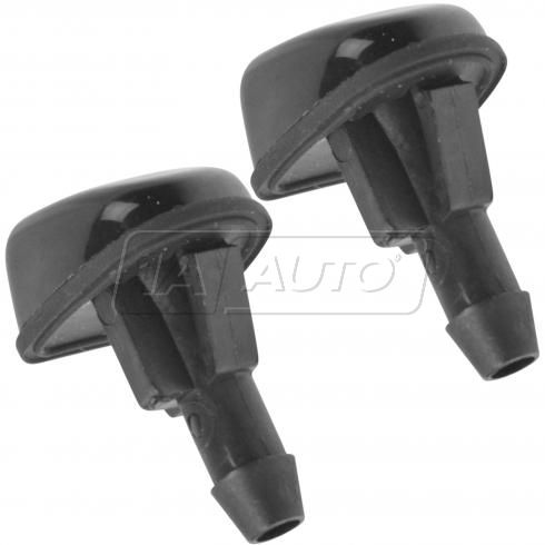 01-06 Tribute; 01-07 Escape, Mariner Front Windshield Wiper Washer Fluid Dual Spray Nozzle PAIR (FD)