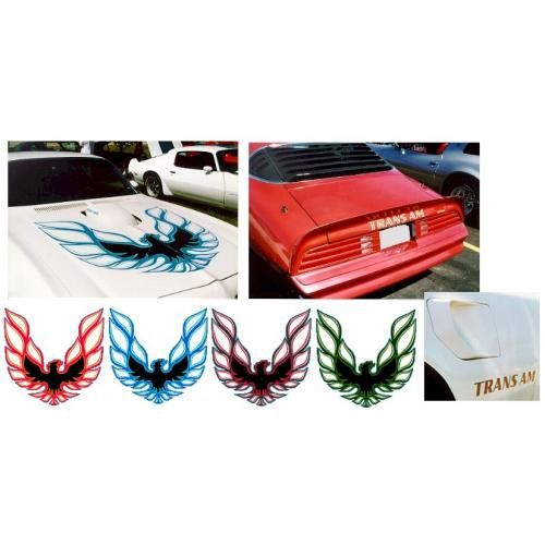 1973-78 TRANS AM DECAL KIT
