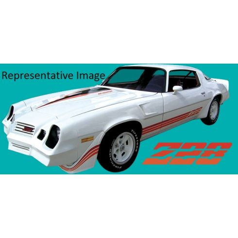 1980-81 Z28 DECAL KIT