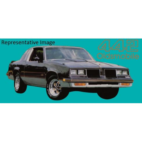 1985-87 Oldsmobile 442 Decal & Gold Stripe Kit