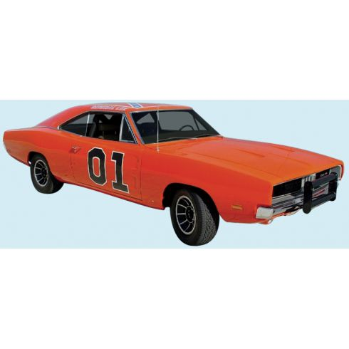 General Lee Dodge Charger Complete Decal Kit Red/White/Blue