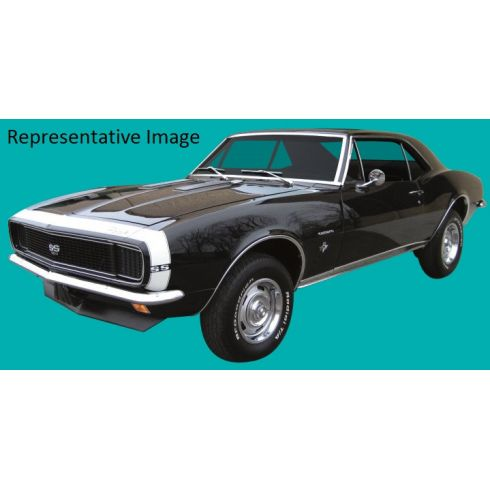67-68 Chevy Camaro Bumble Bee Black Stripe Kit