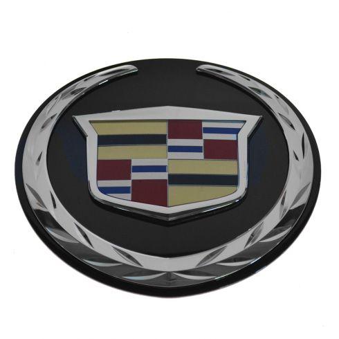 09-13 Escalade Hybrid; 07-14 Escalade, Escalade ESV, Escalade EXT Tailgate, Liftgate Crest Emblem