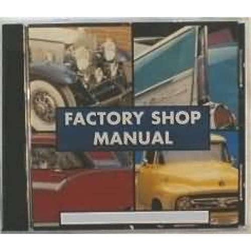 1957 Chevy Shop  Repair Service Manual CD