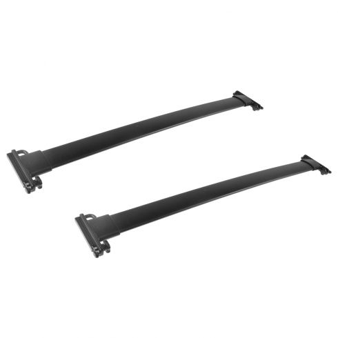 05-06 Ford Expedition Roof Luggage Rack Black Cross Bar Rail PAIR (Ford)