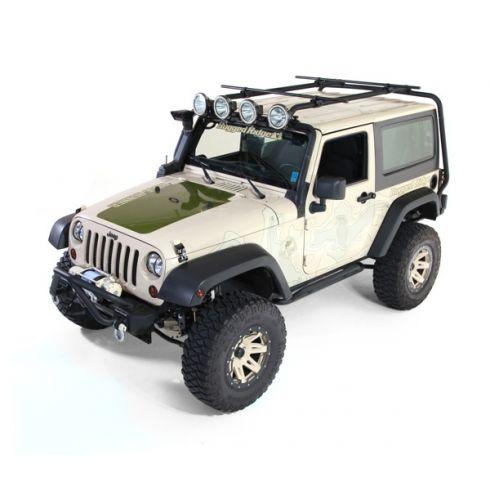 Roof Rack, 07-14 Jeep 2-Door Wrangler