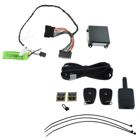 15-16 Ford Edge, Explorer, F150, MKZ Type C Scalable Security System & Remote Starter Kit (Ford)