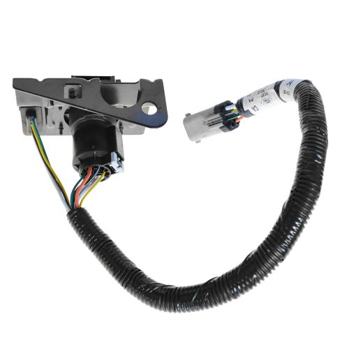 99-01 Ford F250SD-F550SD Trailer Tow Wiring Harness (4 & 7 Pin) w/Plug & Mounting Bracket (FORD)