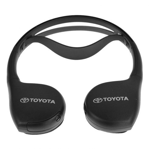 00-14 Lexus, Toyota SUV Multifit (w/Infrared DVD Entertainment System) Wireless Headphones (Toyota)