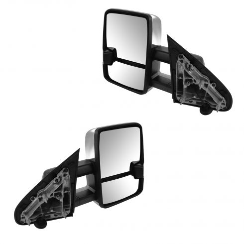 2015 chevy silverado 3500 power heated turn signal parking lights towing mirror pair chevy and. Black Bedroom Furniture Sets. Home Design Ideas