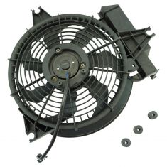 2001-02 Hyundai Santa Fe Condenser Fan for 2.7L