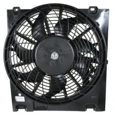 2000-04 Saturn L Series 2.2L A/C Condenser Cooling Fan Assy (Front Location)