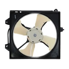 02-07 Mitsubishi Lancer A/C Condenser Cooling Fan Assembly