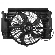 00-06 BMW X5 Condenser Pusher Cooling Fan Assembly (Behr)