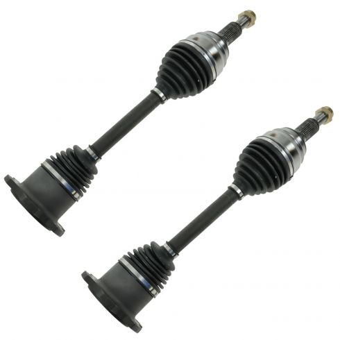07-12 Chevy, GMC Silverado, Sierra 1500 (NB), Escalade, Tahoe, Yukon, Sub Front CV Axle Shaft PAIR