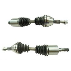 08-12 Jeep Liberty; 07-11 Dodge Nitro Front CV Axle Pair