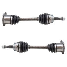 04-15 Nissan Armada, Titan; 04-10 QX56 Front CV Axle Shaft Assembly Pair