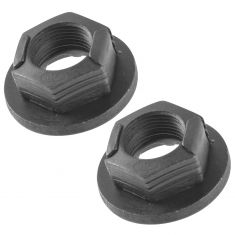 00-07 Focus (exc SVT); 95-00 Contour, Mystique; 99-02 Couger Axle Shaft Retainer Nut LH Pair (Ford)