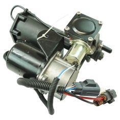 05-09 Land Rover LR3; 10-14 LR4; 06-04 Range Rover Sport Air Ride Suspension Compressor w/Dryer