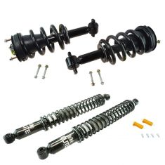 07-13 Chevy GMC Cadillac Full Size SUV Front & Rear Air Shock Conversion Kit (Set of4)