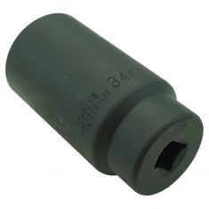 34MM 12PT 1/2 Drive Deep Well Impact Socket