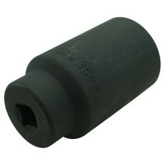 36MM 12PT 1/2 Drive Deep Well Impact Socket