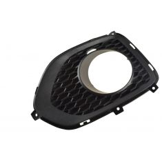 11-13 Kia Sorento Front Bumper Mounted Molded Black Plastic Driving Fog Light Bezel RH (Kia)