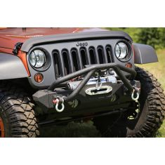 Double X Striker, Black, 76-86 CJ, 87-14 Jeep Wrangler (YJ,TJ,JK)