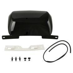 07-14 Subrban, Tahoe, Yukon, XL Rear Bmpr Mtd Black (RPO 41U) Trailer Hitch Cover w/Install Kit