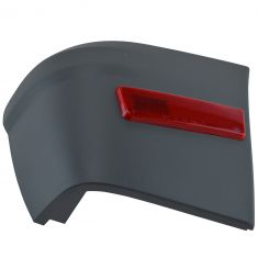 10-13 Ford Transit Connect Torque Gray Rear Bumper End Cap Cover w/Red Reflector RR (Ford)