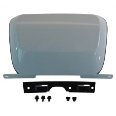 07-14 Subrban, Tahoe, Yukon, XL Rear Bmpr Mtd White (RPO 50U) Trailer Hitch Cover w/Install Kit (GM)