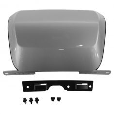 07-14 Subrbn, Tahoe, Yukon, XL Rear Bmpr Mtd Silver (RPO GGZ) Trailer Hitch Cover w/Install Kit (GM)