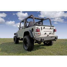XHD Rear Bumper, 76-06 Jeep CJ and Wrangler