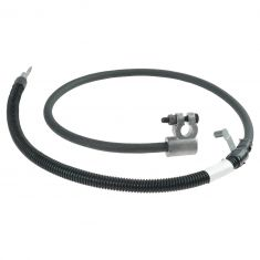99-01 Ford F250SD-F550SD (w/7.3L Dsl & Dual Alternators) Negative Battery Cable LF (Motorcraft)