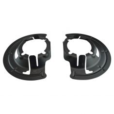 99-04 Ford F250SD-F550SD; 00-05 Excursion 4WD Brake Dust Shield Pair