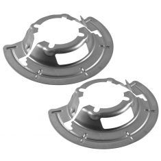 99-04 Ford F250SD-F550SD; 00-05 Excursion w/4WD Front Axle Disc Brake Dust Shield PAIR (Ford)