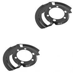 82-88 AMC Eagle; 87-89 Wrangler; 86-92 Comanche; 84-92 Cherokee Front Brake Dust Shield PAIR (Mopar)