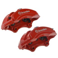 12-16 Jeep Grand Cherokee SRT ~Brembo~ Logoed Front Disc Brake Caliper PAIR (Mopar)