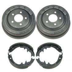 Rear Brake Drum & Shoe Set (AUTO EXTRA AX8923 & AXS581)