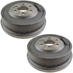00-02 Dodge Dakota w/11 Inch Drum; 98-02 Durango Rear Brake Drum PAIR